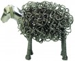 Metal Wiggle Sculpture - THE SHEEP in Nickel funky designer gift by EDGE