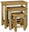 Solid Mango Wood Nest of Tables