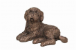 Frith Sculpture Koko the Labradoodle sitting