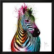 Murciano liquid Glass ZEBRA picture