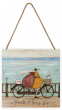 Sam Toft (A Breath of Fresh Air) Wooden Block