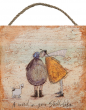 Sam Toft Hanging Wooden Block